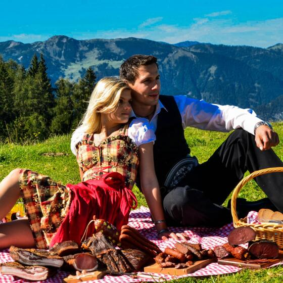 picknick am berg zillertal